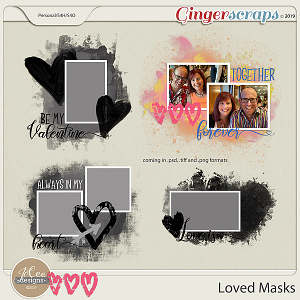 Loved Masks by JoCee Designs