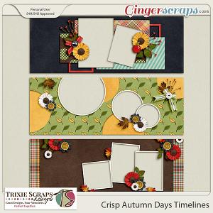 Crisp Autumn Days Timelines by Trixie Scraps Designs