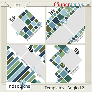 Templates - Angled 2 by Lindsay Jane