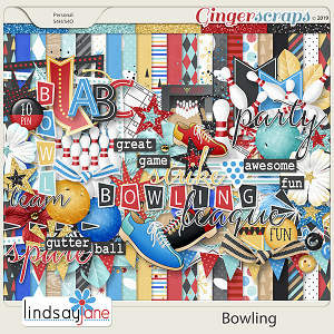Bowling by Lindsay Jane