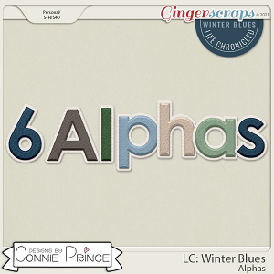 Life Chronicled: Winter Blues - Alpha Pack AddOn by Connie Prince