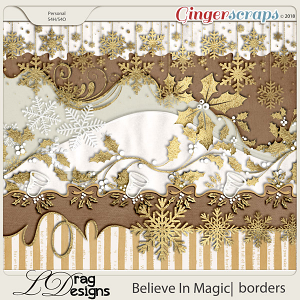 Believe In Magic: Borders by LDragDesigns