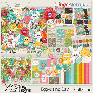 Egg-citing Day:The Collection by LDragDesigns