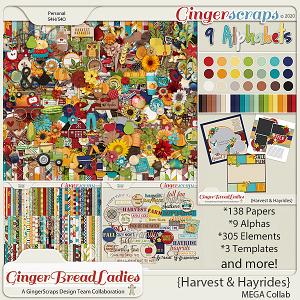 GingerBread Ladies MEGA Collab: Harvest & Hayrides