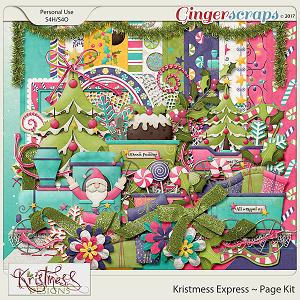 Kristmess Express Page Kit