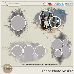 Faded Photo Masks2 by JoCee Designs