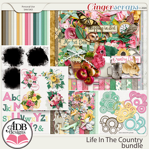 Life In The Country Bundle by ADB Designs
