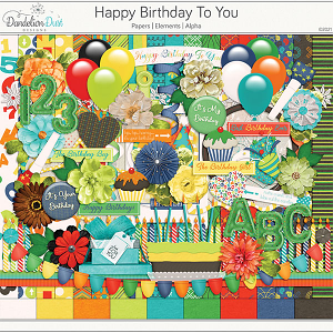 Happy Birthday To You by Dandelion Dust Designs