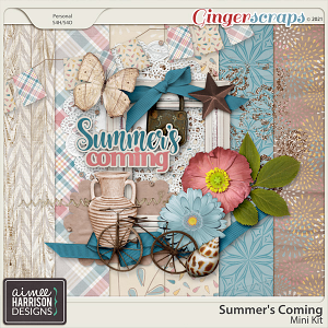Summer's Coming Mini Kit by Aimee Harrison