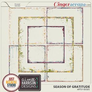 Season Of Gratitude Edges by JB Studio & Aimee Harrison Designs