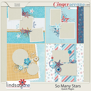 So Many Stars Quick Pages by Lindsay Jane