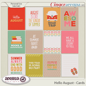 Hello August - Cards