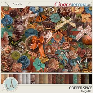 Copper Spice Mega Kit by Ilonka's Designs