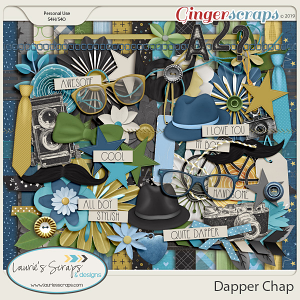 Dapper Chap Page Kit