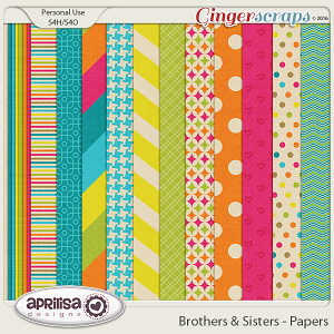 Brothers & Sisters - Papers by Aprilisa Designs