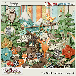 The Great Outdoors Page Kit