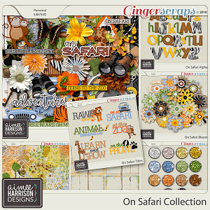 On Safari Collection by Aimee Harrison