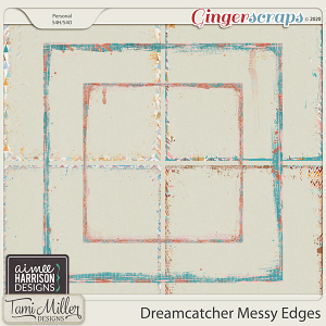 Dreamcatcher Messy Edges by Aimee Harrison and Tami Miller