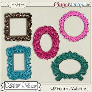 Commercial Use Frames Volume 1 by Connie Prince.