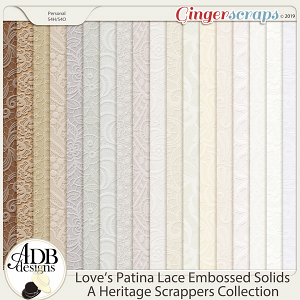 Love's Patina Embossed Solids by ADB Designs