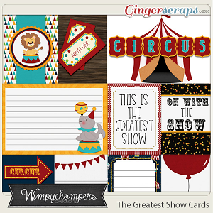 The Greatest Show- Cards