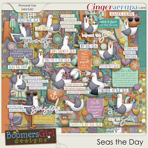 Seas the Day by BoomersGirl Designs