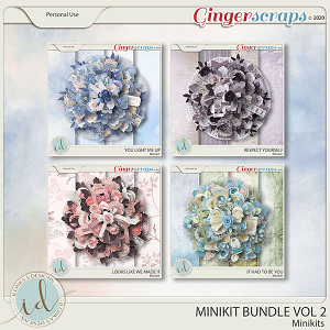 Minikit Bundle Vol 2 by Ilonka's Designs