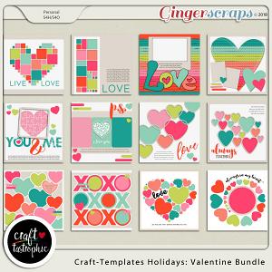 Craft-Templates Holidays Valentine Bundle