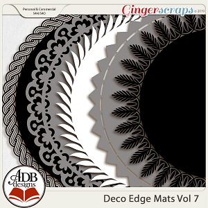 Deco Mats Vol 07 by ADB Designs
