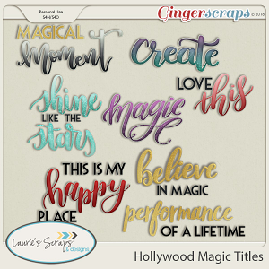 Hollywood Magic Titles