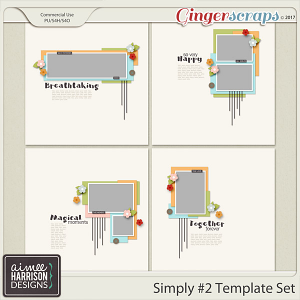 Simply #2 Template Set Templates
