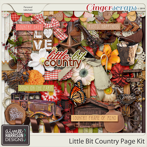 Little Bit Country Page Kit by Aimee Harrison