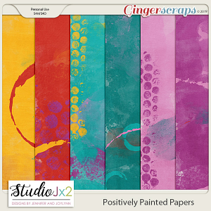 Positively Painted Paper Pack