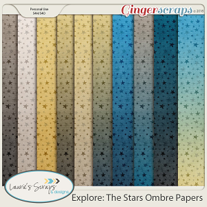 Explore: The Stars Ombre Papers