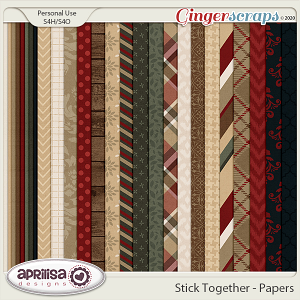 Stick Together - Papers by Aprilisa Designs
