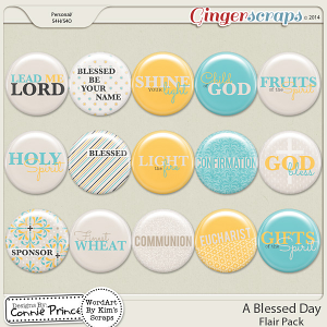 A Blessed Day - Flair Pack