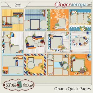 Ohana Quick Pages by Scraps N Pieces