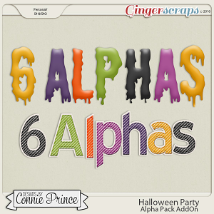 Halloween Party- Alpha Pack AddOn
