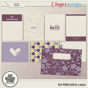 So Precious Cards by JB Studio
