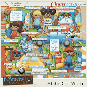At the Car Wash by BoomersGirl Designs