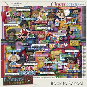 Back to School by BoomersGirl Designs