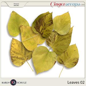 Leaves 02 by Karen Schulz