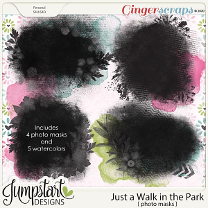 Just a Walk in the Park {Photo Masks} by Jumpstart Designs