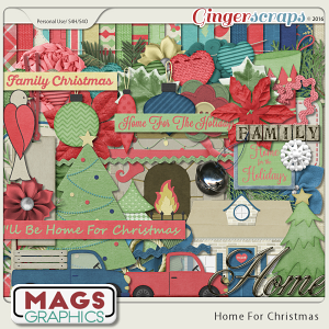 Home For Christmas KIT from MagsGraphics
