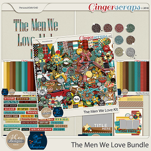 The Men We Love Bundle by JoCee Designs and Miss Fish
