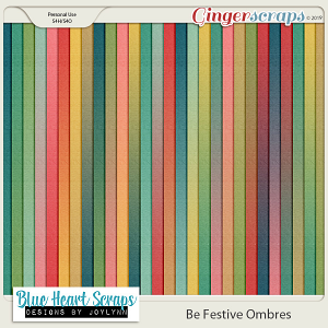 Be Festive Ombre Paper Pack