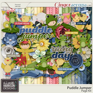 Puddle Jumper Page Kit by Aimee Harrison