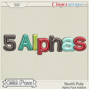 North Pole- Alpha Pack AddOn by Connie Prince
