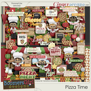 Pizza Time by BoomersGirl Designs