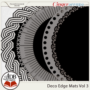 Deco Mats Vol 03 by ADB Designs